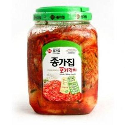 (2.5kg) 종가집 포기 김치/ Whole Cabbage Kimchi Chongga