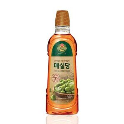 1.2kg 백설 매실당/ Korean Plum Syrup