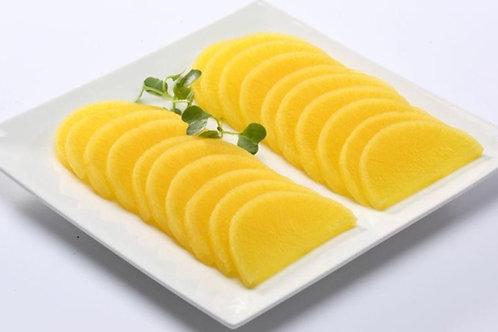 8oz 단무지 /Sliced Pickled Korean Radish