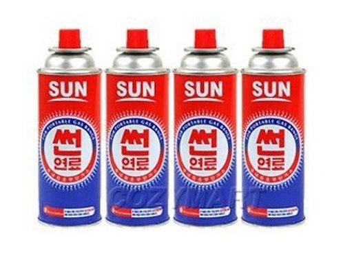 4Pack 부탄 가스/Gas refill for Portable Gas Burner