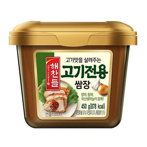 450g 고기전용 쌈장/ Ssamjang Seasoned Soybean Paste For Meat