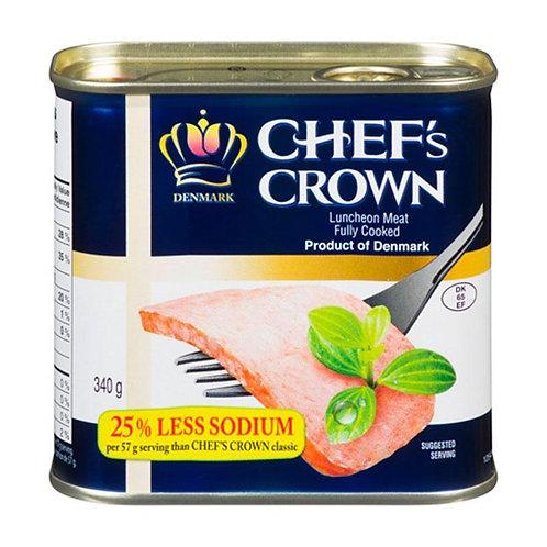 340g 스팸 /Less Sodium Chef's Crown Spam