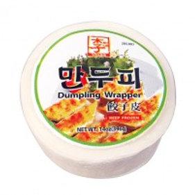 396g 이씨네 일반 만두피/ Yissine Dumpling Wrapper