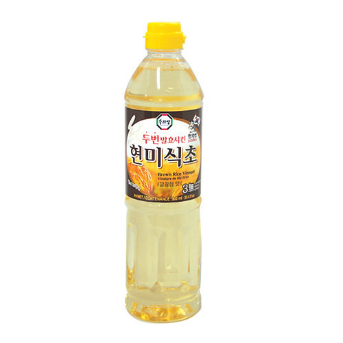 900ml  청정원 현미식초/ Brown Rice Vinegar