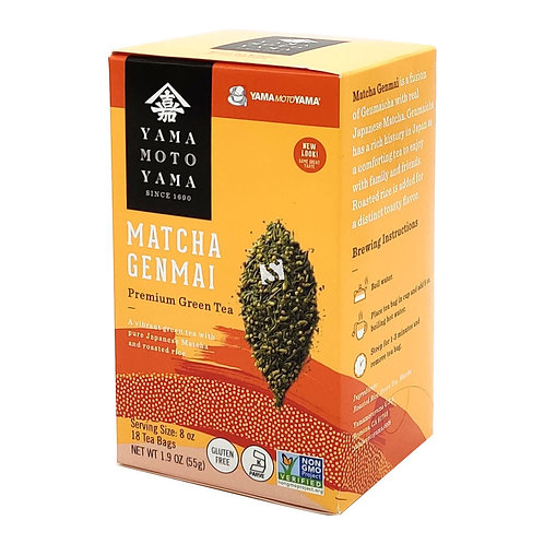 55 g   Matcha Genmai Premium Green Tea