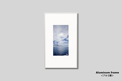 写真,インテリア,海,風景,自然,空,雲,伊豆,夏,インテリアフォト,アート,額入り,額装,オリジナルプリント,アートフレーム,フォトフレーム,おしゃれ,モダン,壁掛け,壁飾り,装飾,ウォールアート,新築祝い