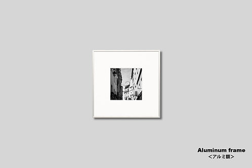 インテリア,写真,風景,フランス,パリ,街並み,モノクロ,正方形,建築,額入り,額装,オリジナルプリント,アートフレーム,インテリアフォト,フォトフレーム,おしゃれ,モダン,壁掛け,壁飾り,装飾,ウォールアート,プレゼント,新築祝い