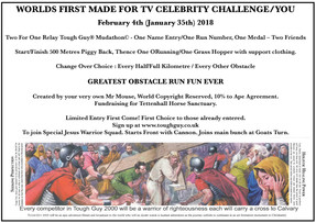 Worlds First Made For TV Challenge!