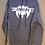 Thumbnail: Original NOS Zorlac Metallica Spiderman sweatshirt by Pushead