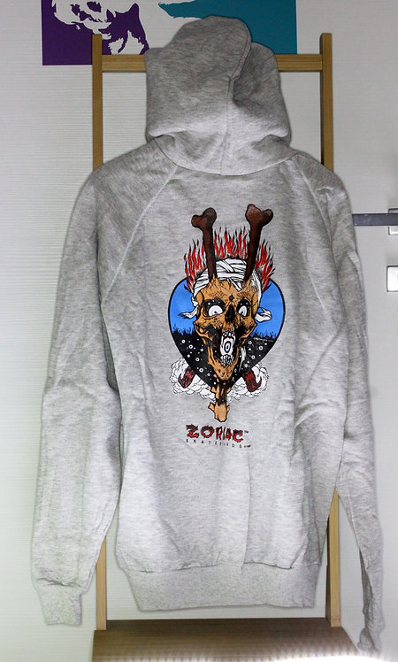 Original NOS Zorlac Metallica Eye in mouth sweatshirt by Pushead