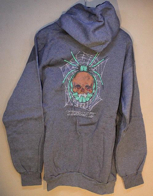 Original NOS Zorlac Metallica Spiderman sweatshirt by Pushead
