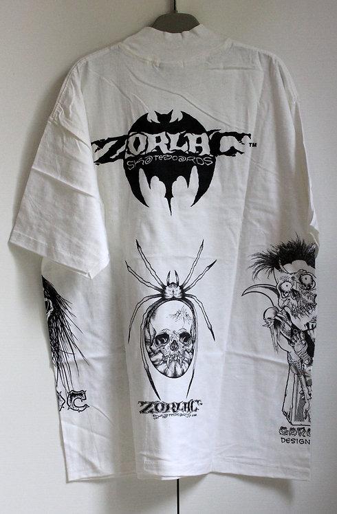 Original NOS Zorlac Pushead art tshirt