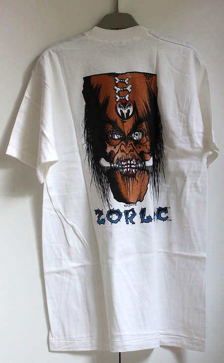 Original NOS Zorlac tshirt by Pushead