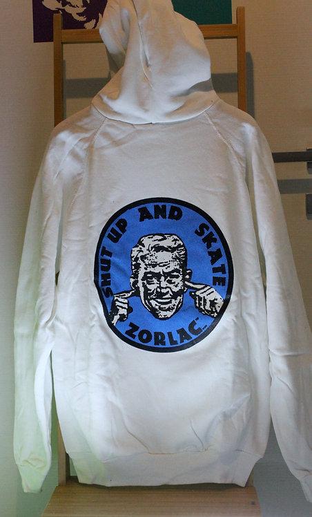 Original NOS Zorlac shut up and skate sweatshirt