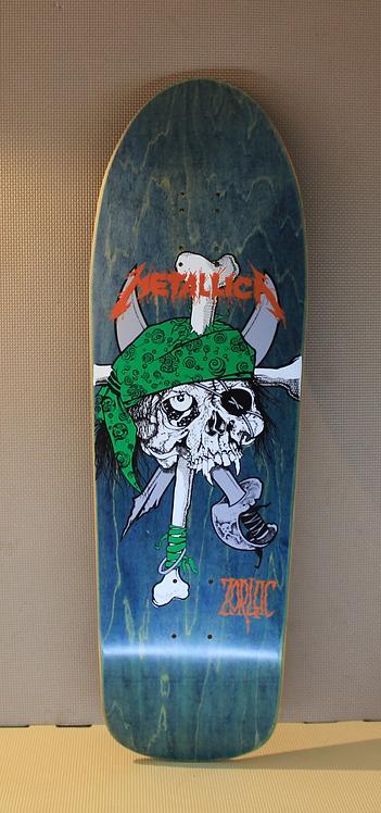Zorlac Metallica Pirate model. Design by Pushead