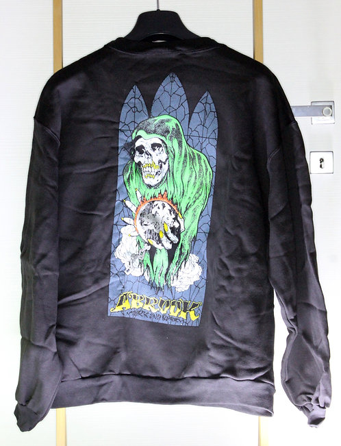 Original NOS Zorlac Abrook Spectre model sweatshirt by Pushead