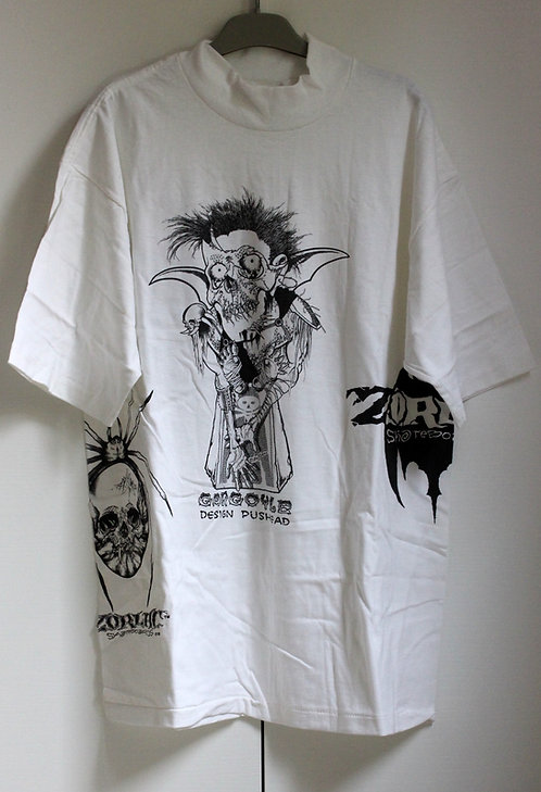 Original NOS Zorlac Pushead art tshirt