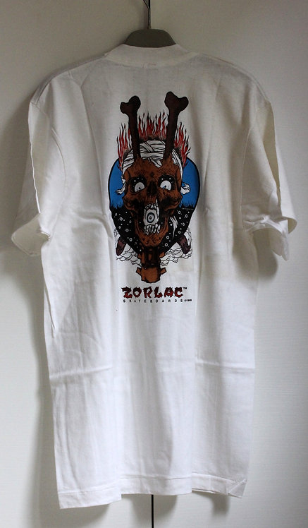 Original NOS Zorlac Metallica eye in mouth tshirt by Pushead