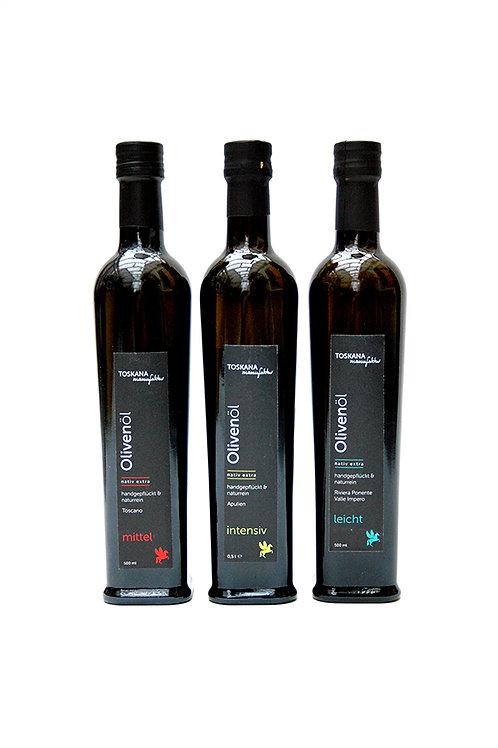 Olivenöle 3er Set