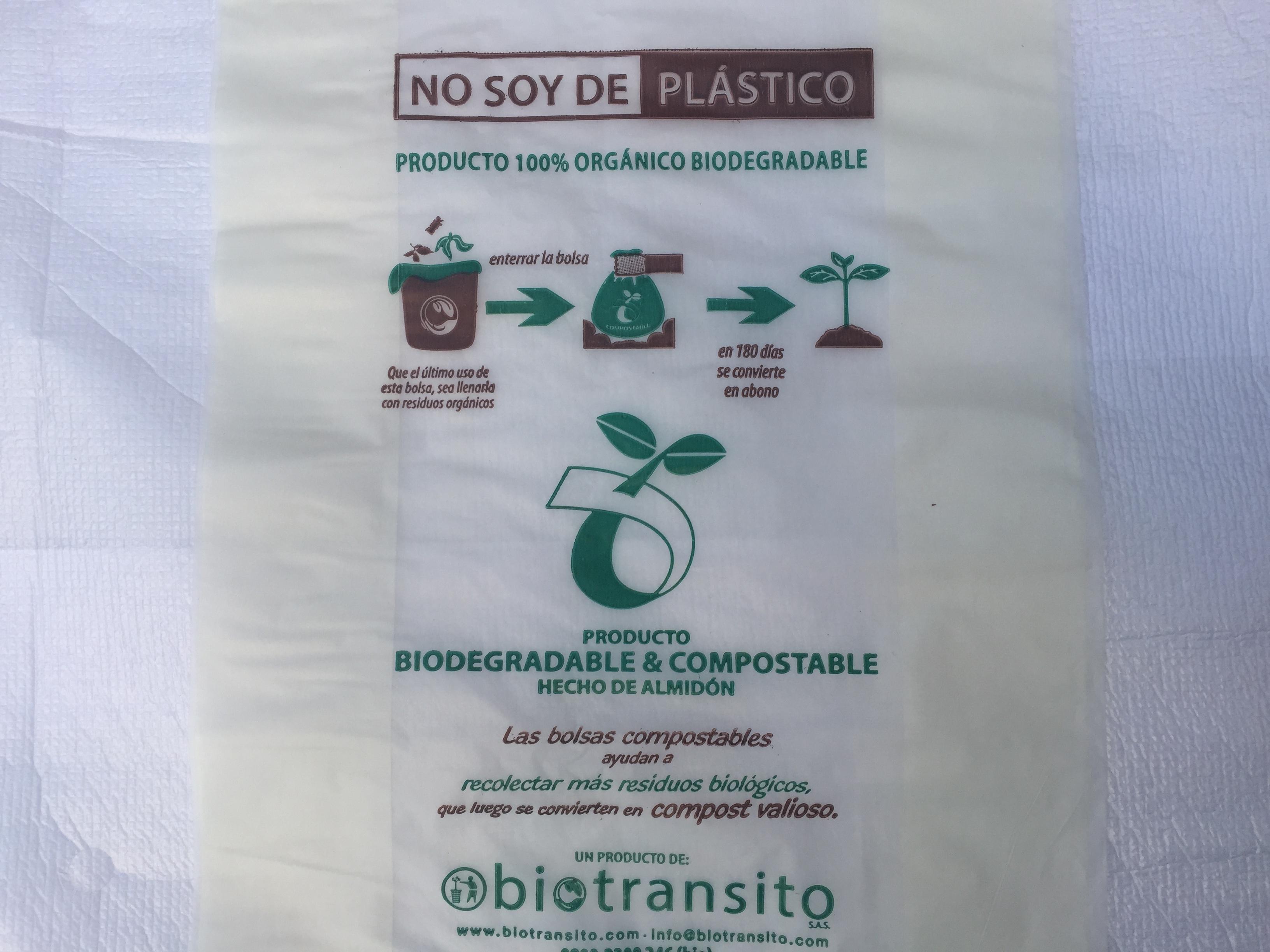 Bolsa Bio 30cm x 40cm 30 micrones