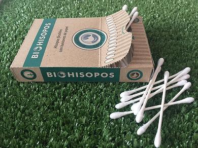 Hisopos con bastones de Papel - Biotransito