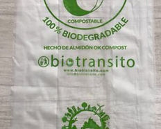 Bolsas Biodegradables y Compostables 40x50 Biotransito
