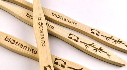 Cepillos de Dientes de Bambu - Biotransito