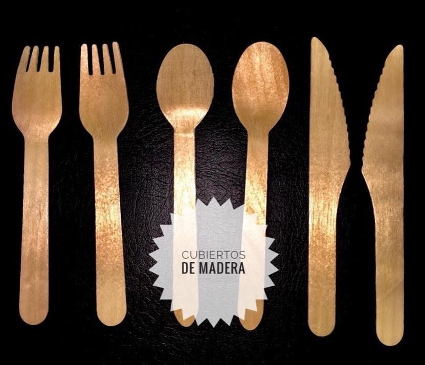 Cubiertos de Madera