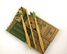 Cepillos de Dintes Biodegradables Compostables