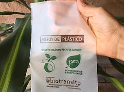 Bolsa Mini BioCompostable 15x20