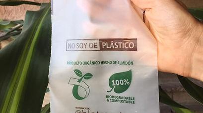 Bolsa MiniBio 15 cm x 20 cm Biodegradable y Compostable