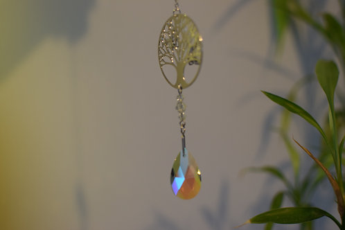 Suspension cristal arbre de vie Feng Shui