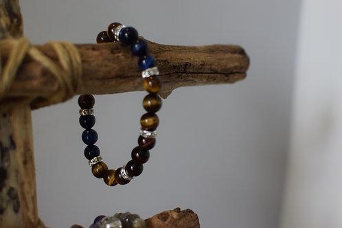 Bracelet perles - 3 'oeil' - Nouveaux projets