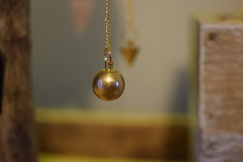 Pendule Bronze Sphère