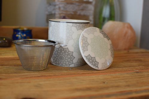 Mug et infuseur de thé Mandala