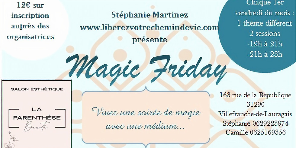 Magic Friday - Découverte de la cartomancie (Tarots, Oracles)
