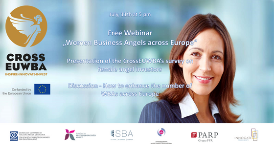 Join the 11/July 5.00 PM free webinar on female angel investors in the EU28