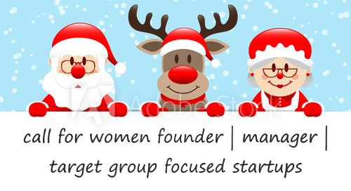 Mrs Startup Santa: Apply by 06/Dec & pitch to investors in Budapest