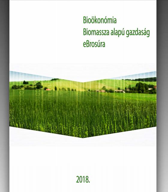 "Megjelent a ""Bioökonómia – Biomassza-alapú gazdaság"" c. e-brosúra"