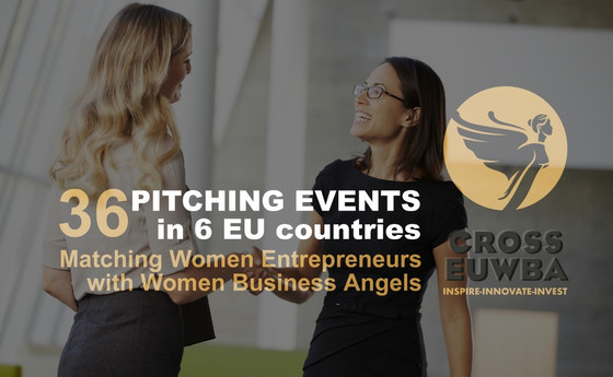 Apply by 22 April! Women startups pitching to women business angels