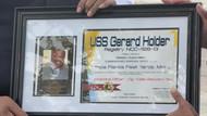 USS Gerard Holder Commissioning Certficate
