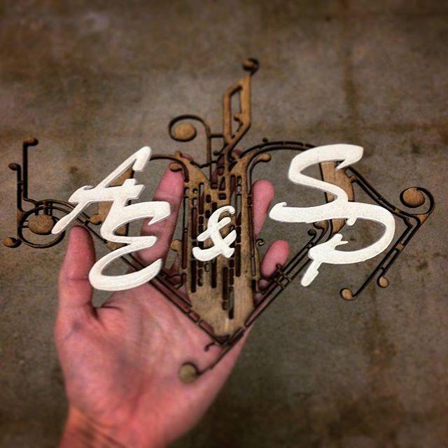 Wedding design for AE + SP