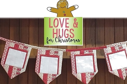 Christmas Pockets Bunting PDF
