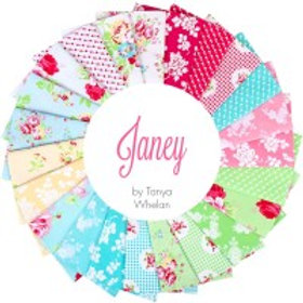 Janey by Clothworks Fat 1/4 Bundle