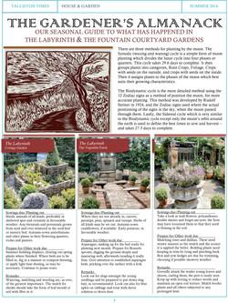 The Gardener's Almanack #2