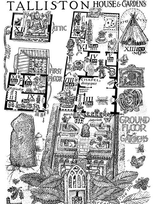 The Talliston Illustrated Map