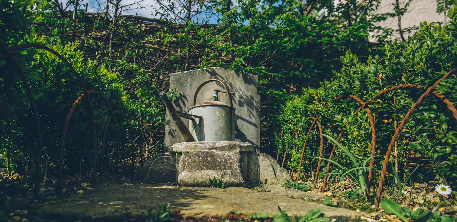 The Labyrinth Garden