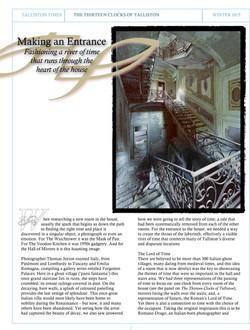 Article #6 The Thirteen Clocks of Talliston