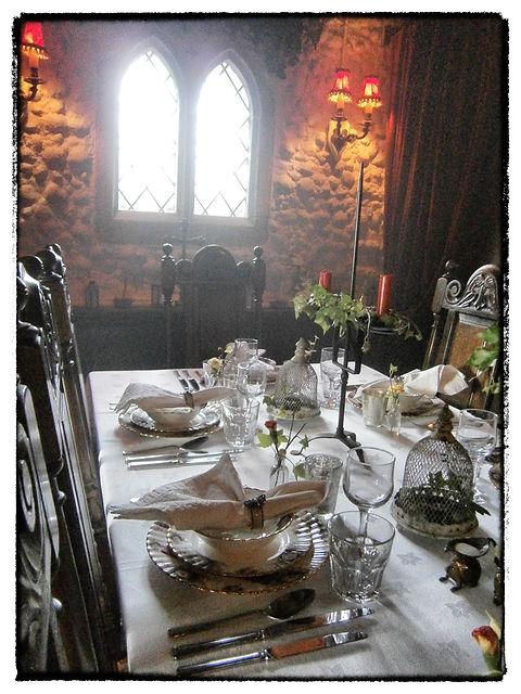 The Murderer's Meal Dinner Table