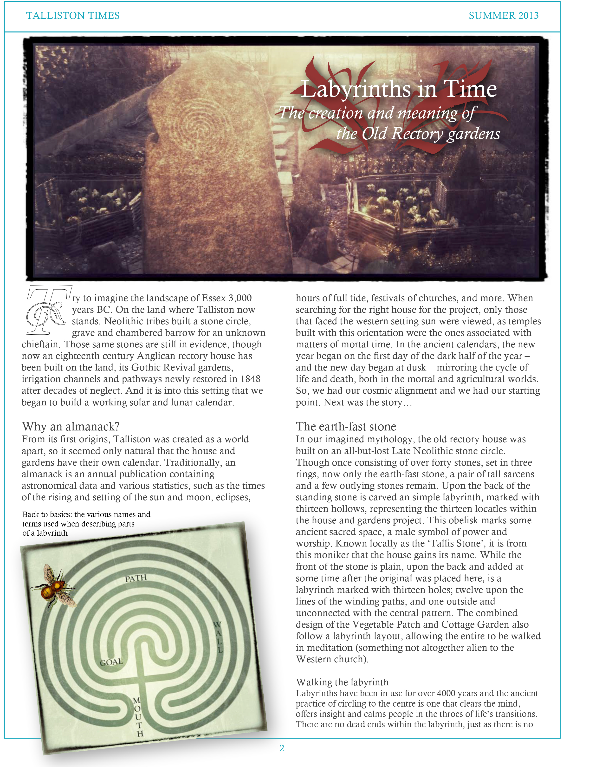 Article #2 The Talliston Almanack